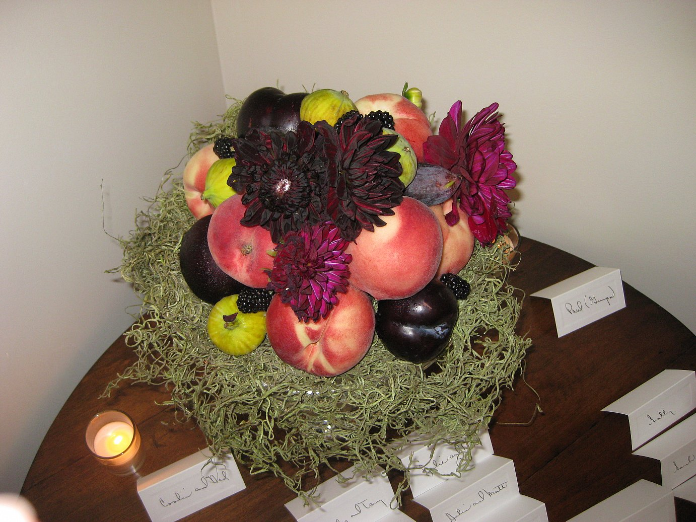 Swell Fresh Fruit Centerpieces Apples Onions Complete Home Design Collection Barbaintelli Responsecom