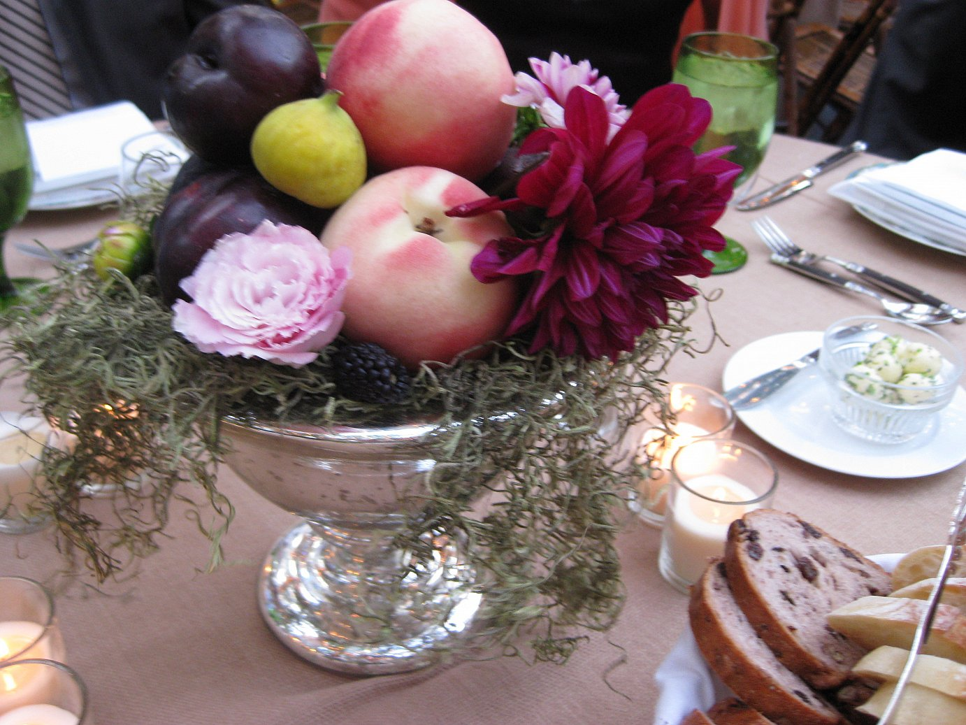 Fantastic Fresh Fruit Centerpieces Apples Onions Complete Home Design Collection Barbaintelli Responsecom