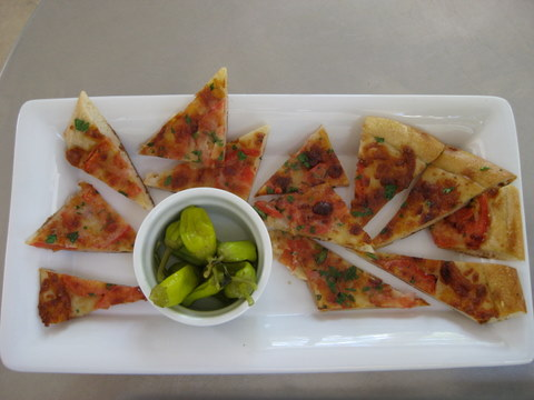 cold pizza appetizer