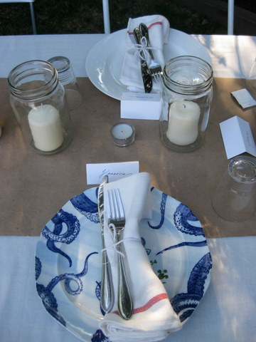 Mary place setting