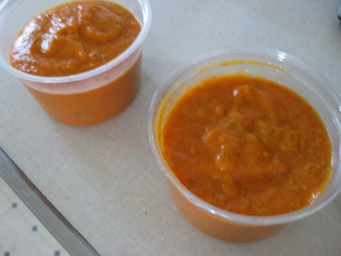 tomato sauce for the freezer