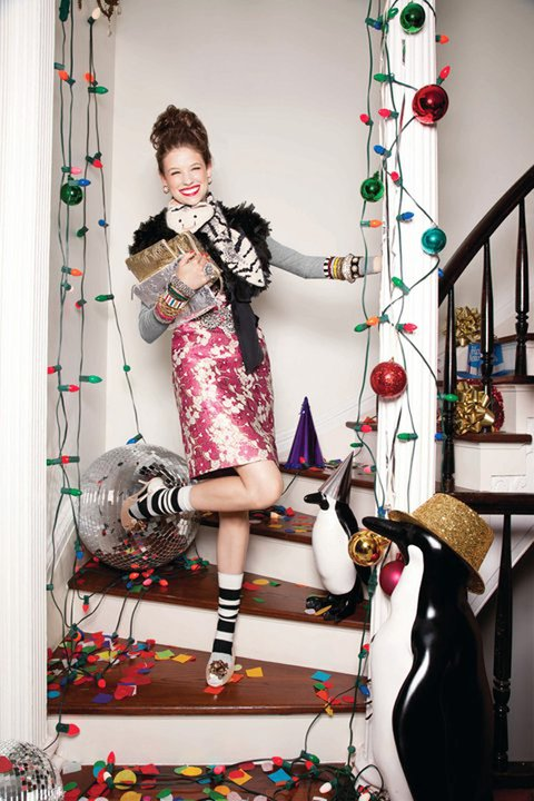 kate spade holiday campaign