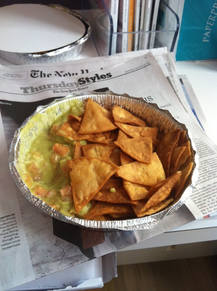 Chips and NY Guac