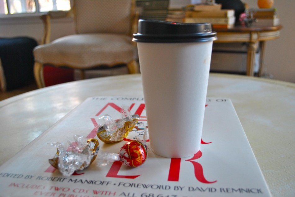 Coffee and Lindt's