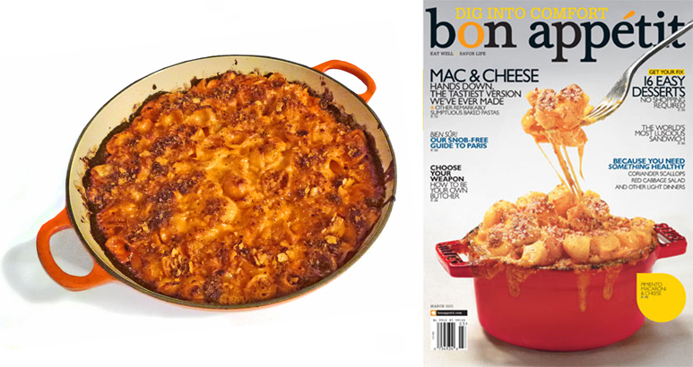 Bon Appetit Mac cheese