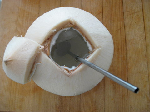 Fresh Coconut Cooler