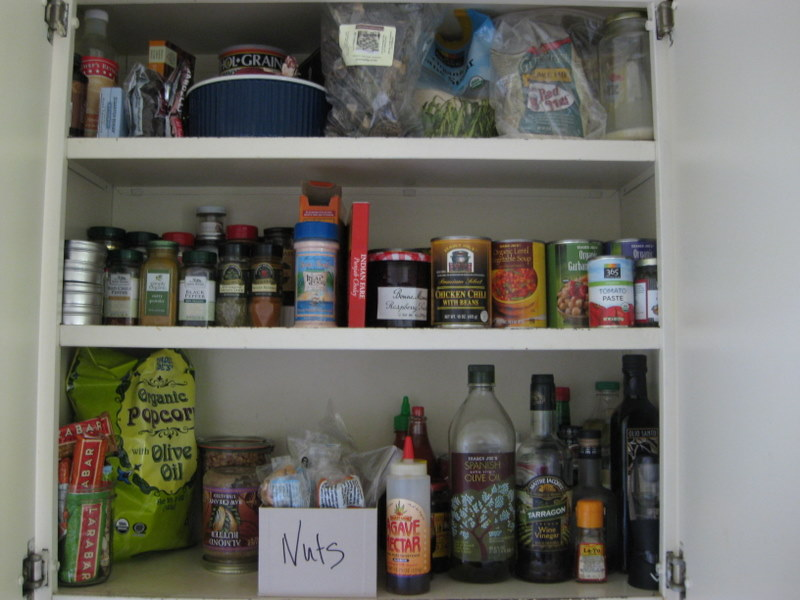 LEH pantry shelves