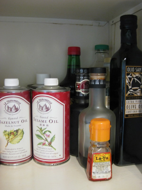 LEH pantry oils
