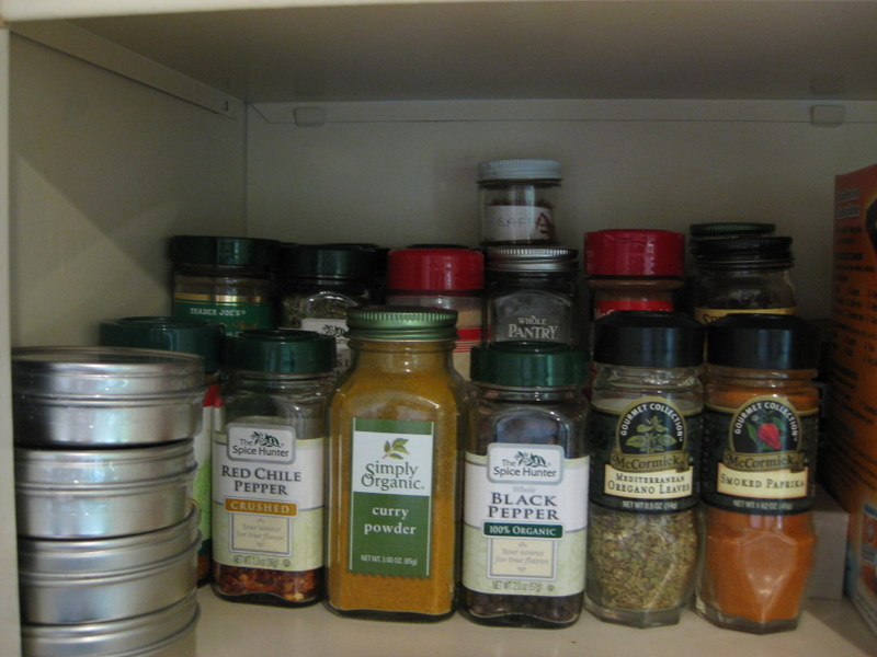 LEH pantry spices