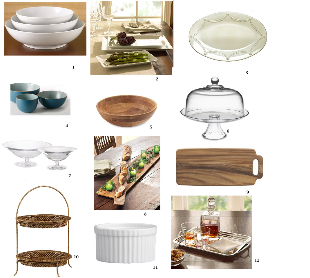 Registry serving pieces