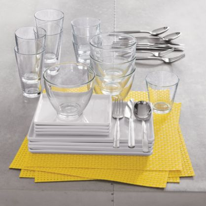 CB2 Basketweave Placemats