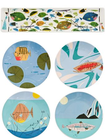 Charley Harper for Fish's Eddy