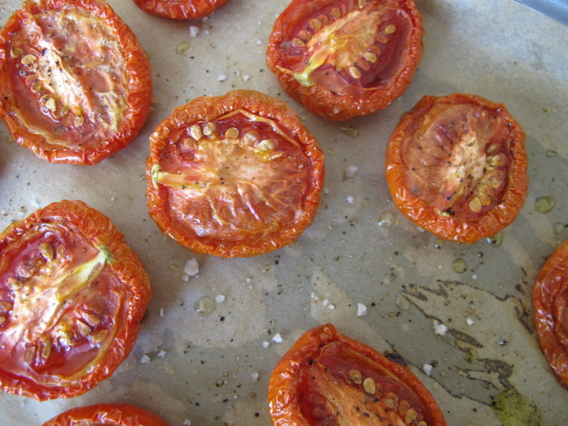 Slow Roasted Tomatoes- close up