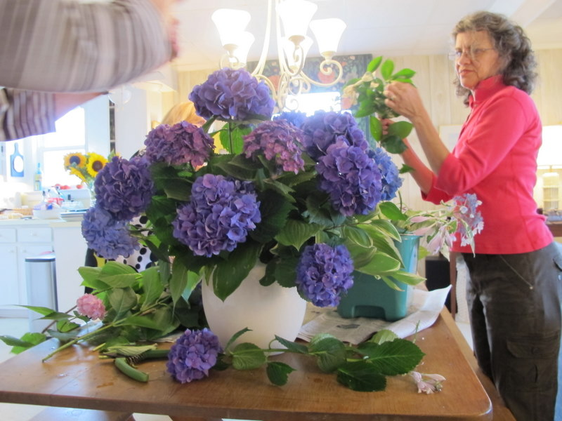 Big Hydrangea Arrangement