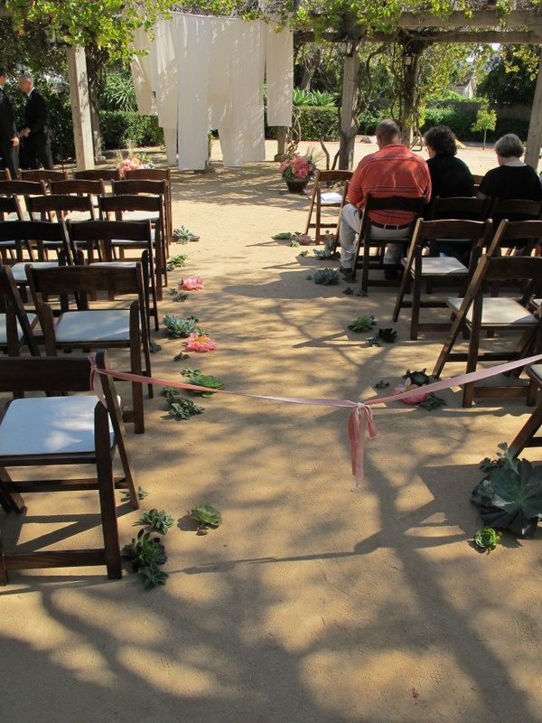 SB ceremony aisle