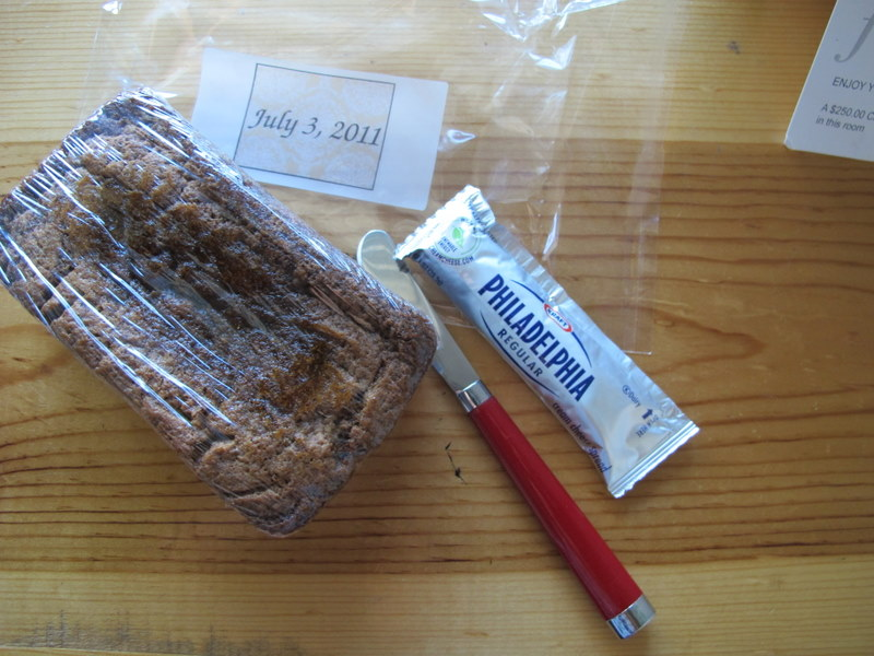 Banana Bread for Welcome Box