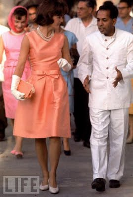 jackie+kennedy+india+orange