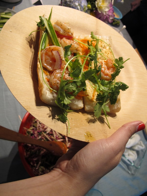 Banh Mi Shrimp Sandwich