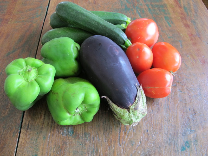 Ratatouille Vegetables