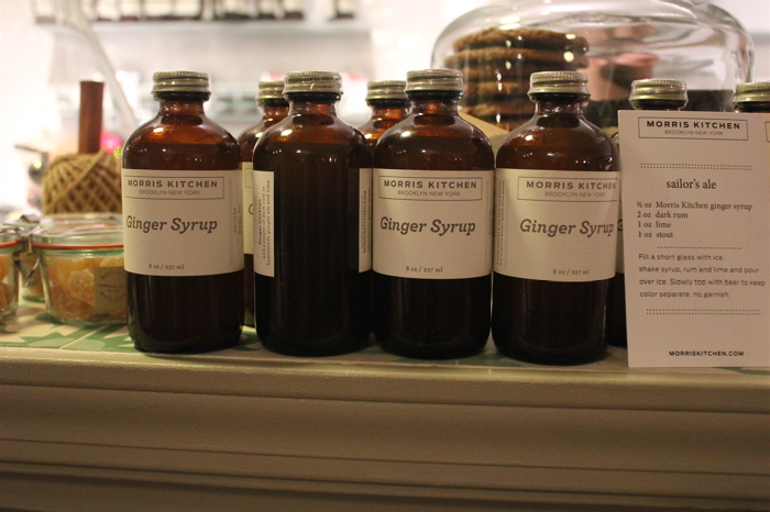 ginger syrup