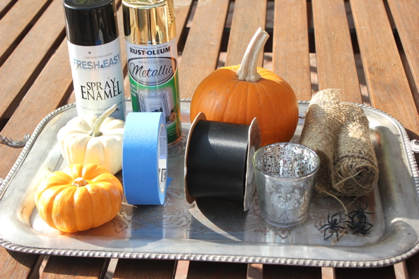 Halloween decor supplies