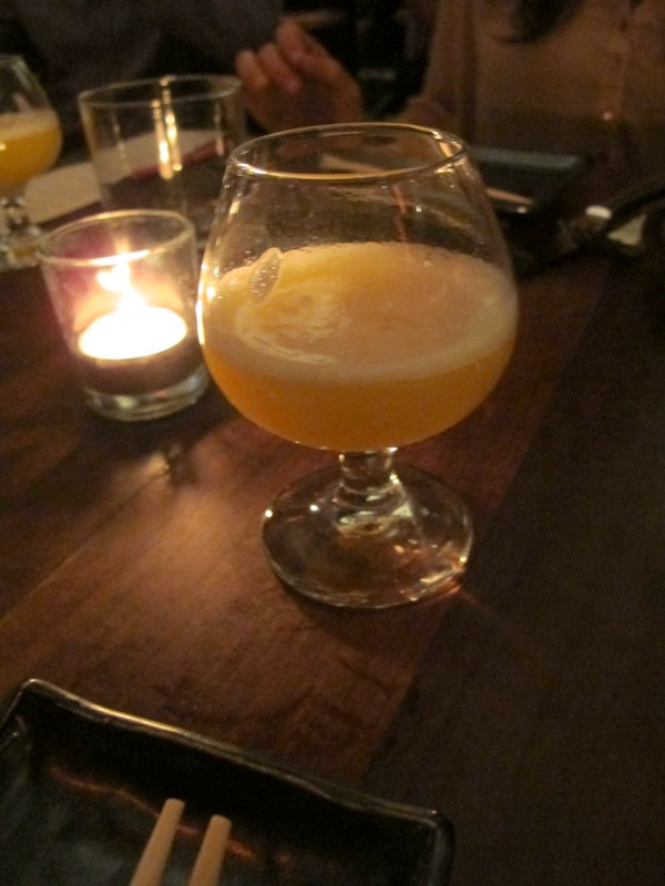 Spicy passion Fruit Pisco Sour