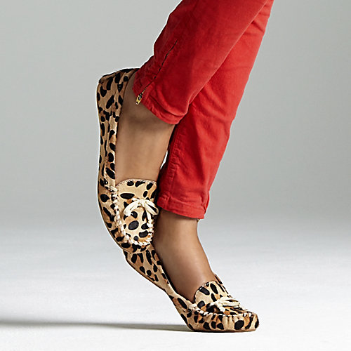 leopard moccassin