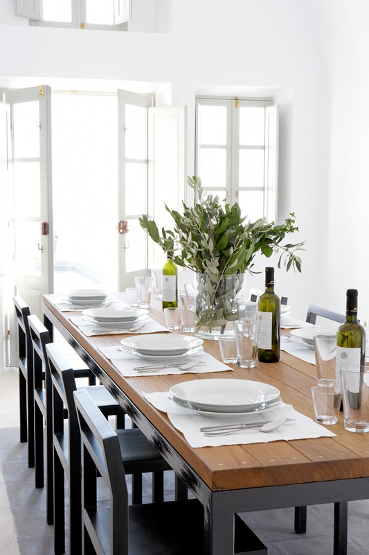 Modern White Table