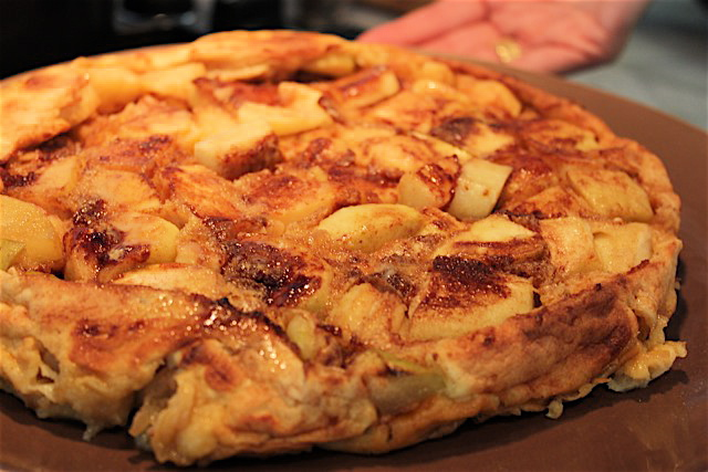Apple pancake recipe