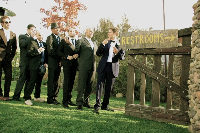 Drew and Groomsmen