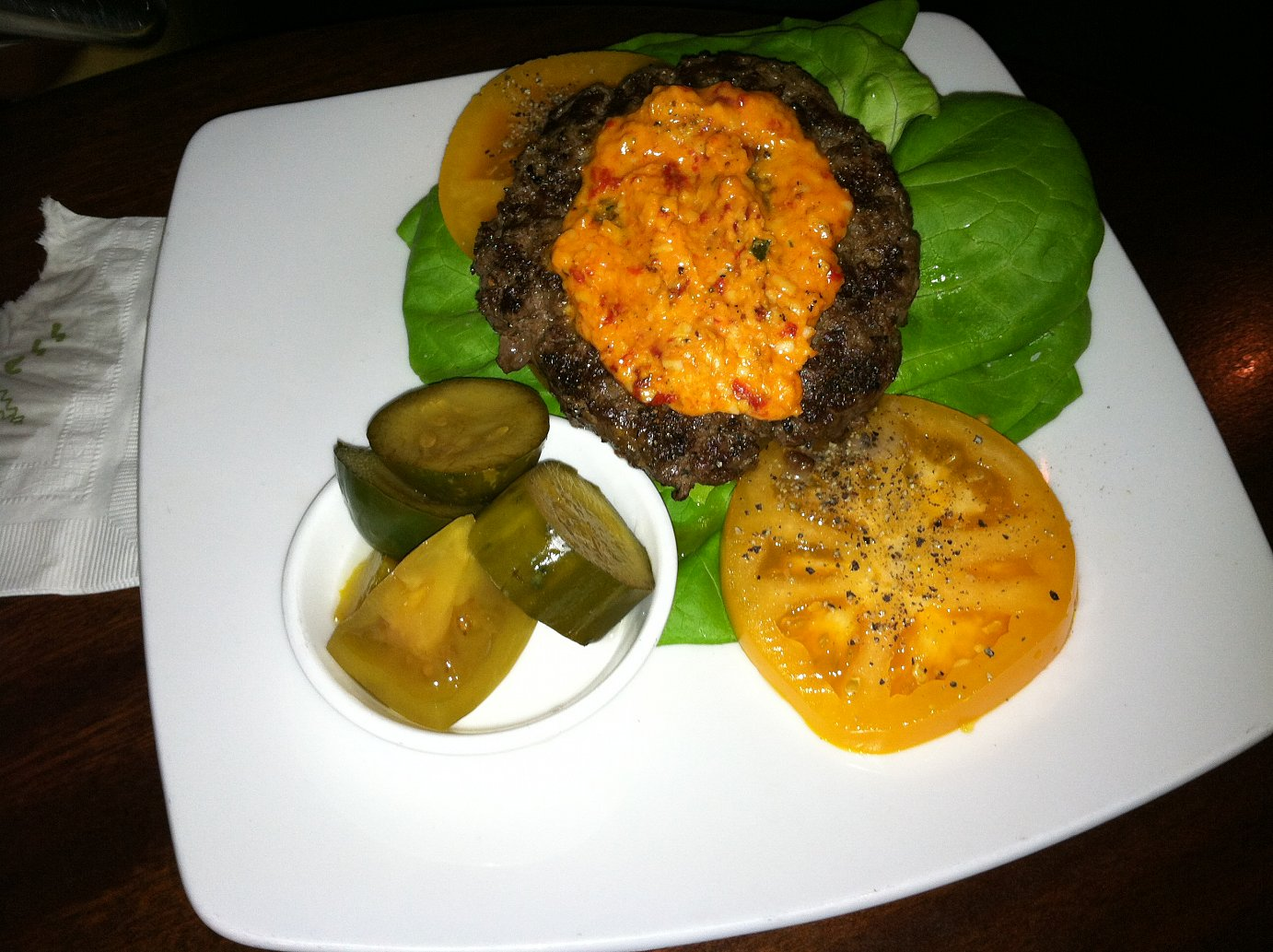 Pimento Cheese Burger a Cypress