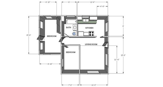 Beth and Tony Floor Plan