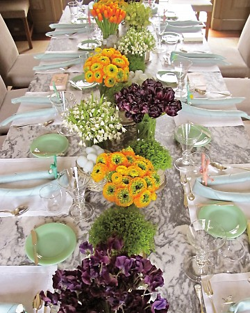 Martha Easter Table
