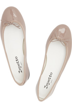 Repetto BB patent-leather ballet flats